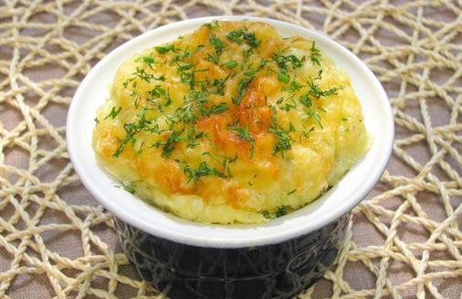 картофельное суфле с сыром