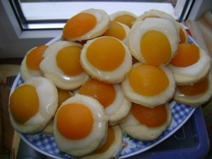 печенье с абрикосами