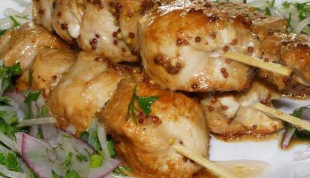 шашлык из курицы по-китайски