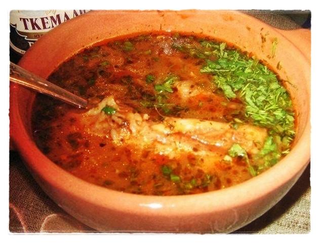 суп харчо на ребрышках
