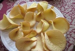 приготовление печенья каллы