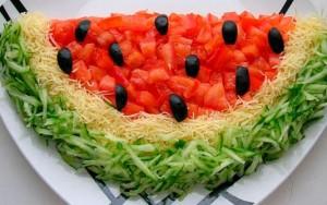 салат арбуз