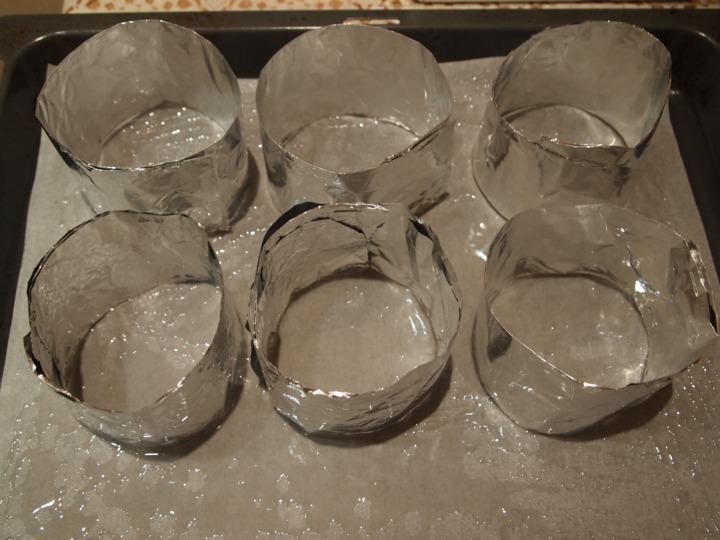 Как сделать формы для выпечки из фольги своими руками
