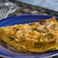 омлет с грибими и сыром