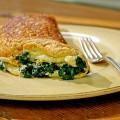 омлет с сыром и шпинатом