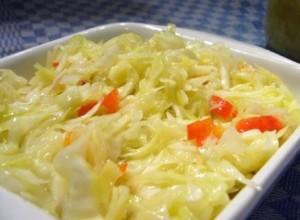 капустный салат по-немецки