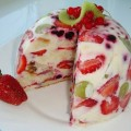 сметенный торт желе без выпечки