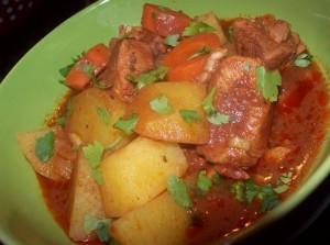 мексиканский суп эстофадо