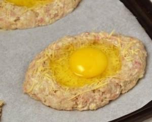 котлеты с яйцом_приготовление