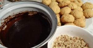 печенье ежики_приготовление