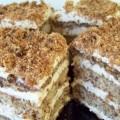 торт мраморный