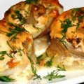 рулеты из рыбы с грибами