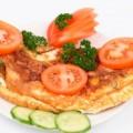 гречневый омлет с сыром
