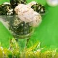Закусочные шарики из курицы и грибов