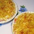 картофельный салат блондиночка
