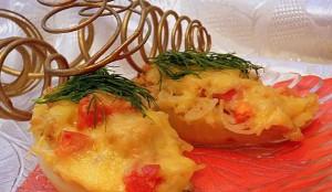 фаршированные перцы макаронами