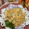 грибной салат рыжее удовольствие рецепт