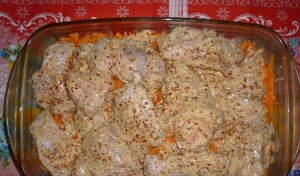 курица с рисом в духовке рецепт