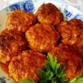 мясные тефтели в сметане с томатами
