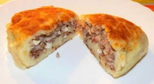 картофельные пирожки с яйцом и гречкой рецепт