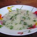 грибной суп ракета