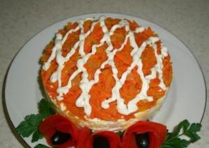 рецепт: салат рыжая бестия