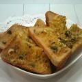сырно-чесночные бутерброды