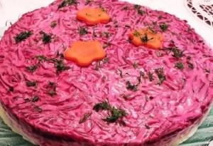 салат сливочная сельдь