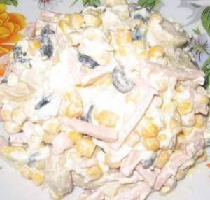 салат георгин