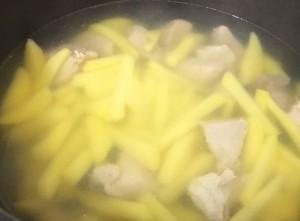 пшенная каша с мясом, в духовке