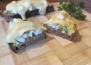 бутерброды с яичным салатом