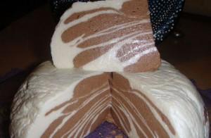 желейный десерт зебра
