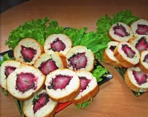 бутерброды поцелуйчики