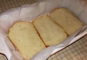 омлет на хлебе