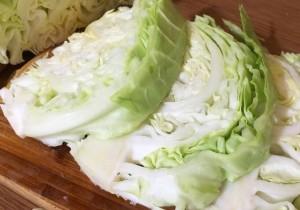 легкая закуска из молодой капусты