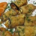 горячие рулеты из баклажанов с сыром
