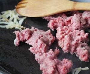 мясная запеканка с рисом